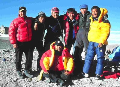2001テレビ朝日「ネイチャリングスペシャル 西田敏行 米大陸最高峰 アコンカグアに挑む」