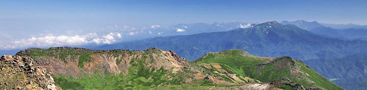山の景色イメージ